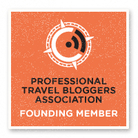 Professional Travel Bloggers Association Founding Member