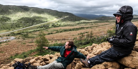 Hiking the Tablelands with Park Canada