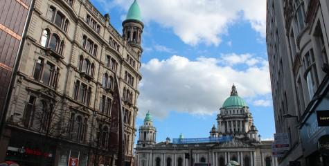 Belfast Parliament downtown