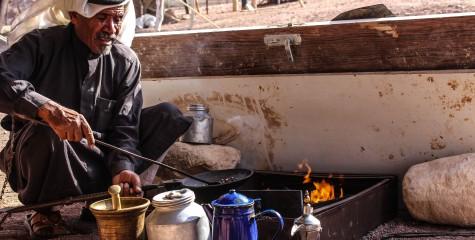 Bedouin coffee