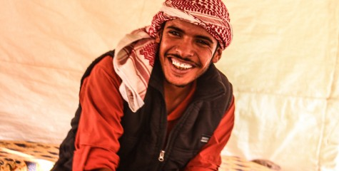 One of our amazing Bedouin guides