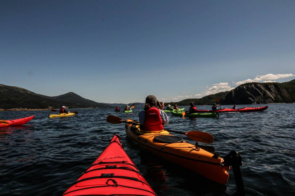 Kayaking Bonne Bay