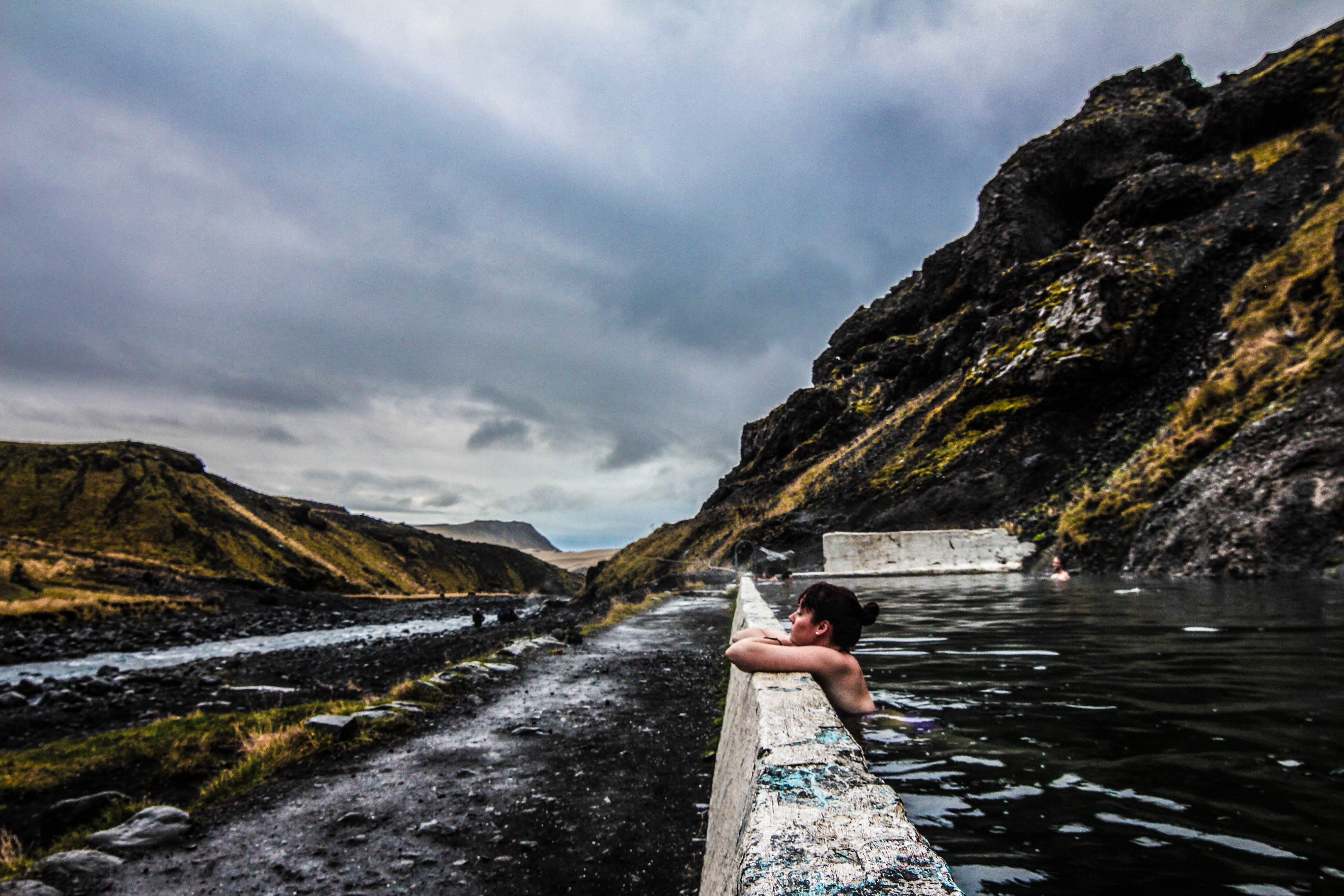 "... the ultra ""secret"" Icelandic geothermal pool - Candice Does The World"