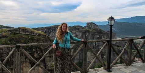 Candice at Meteora