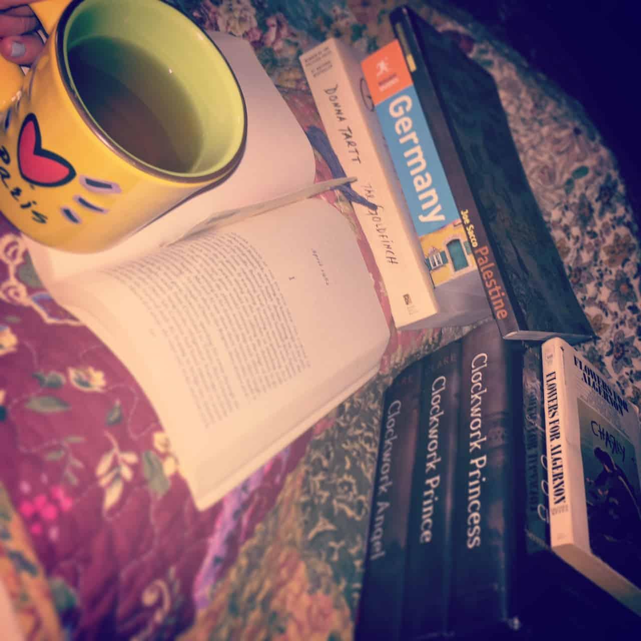 sleeping with big books